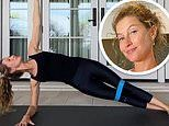 Gisele Bundchen shows off athletic prowess by posting her core strengthening workout