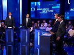 Boris Johnson is EMPTY CHAIRED in first Tory leadership TV debate