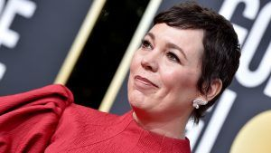 The secret feminist detail you missed on Olivia Colman's Golden Globes outfit