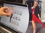 Woman uses a tiny cut out of herself to make sure she buys the right shoes online