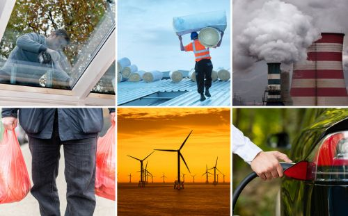 What are the main parties' green policies at the election? Plastic bans, free double-glazing and electric cars