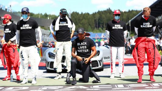 Controversy surrounds Lewis Hamilton as Valtteri Bottas wins F1 season opener