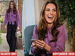 Duchess of Cambridge recycles a £790 Gucci blouse in new video