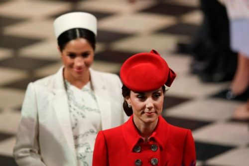 Pair of tights caused Meghan Markle and Kate's royal wedding fallout