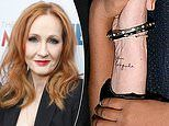 Author J.K. Rowling reveals she has a Latin alchemy tattoo etched on her wrist