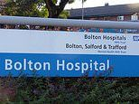 Woman, 58, is arrested after 'punching nurse in the stomach and spitting at security guards'