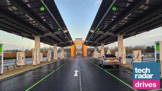 Future of fuelling: we visit the UK's first all-electric forecourt for electric cars