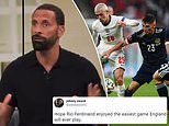 Rio Ferdinand left red-faced over England v Scotland prediction after goalless stalemate at Wembley