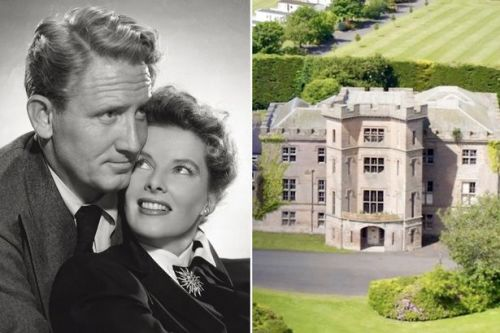 Katharine Hepburn and Spencer Tracy had 'dirty weekends' in British castle