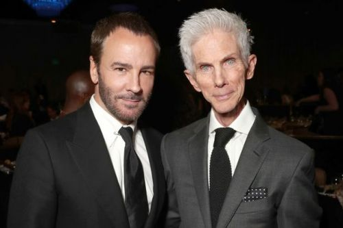 Fashion designer Tom Ford in mourning as husband of 35 years Richard Buckley dies age 72