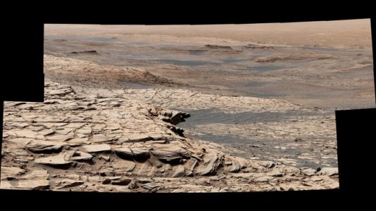 Curiosity kicks off summer road trip up Mount Sharp