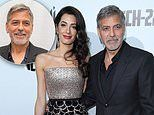 George and Amal Clooney donate more than $1 million to coronavirus aid efforts