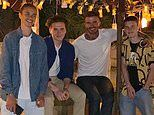 Victoria Beckham posts a heart-warming photo of the her sons and David as they reunite in Miami