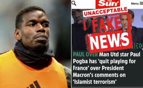 'Unacceptable fake news' - Paul Pogba denies quitting French national team
