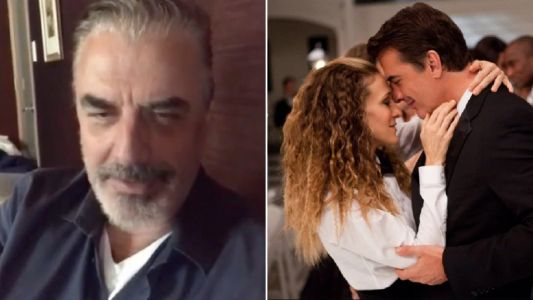 Sex And The City's Chris Noth and Sarah Jessica Parker share mini Big and Carrie reunion as they urge fans to self-isolate