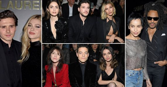 From Kit Harington to Hailey Bieber, Rami Malek and Stranger Things' Joe Keery - how many famous people can you fit into a fashion show?