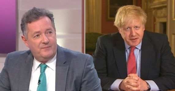 Piers Morgan ready to be PM as Boris Johnson tests positive for coronavirus