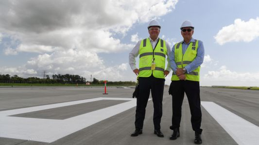 Brisbane Airport's new runway to launch in July