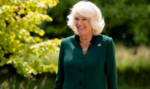 Camilla's hidden message in 'specially made' outfit as she received 'huge honour'