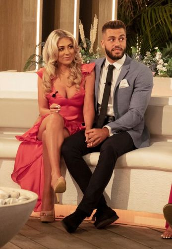 'We Loved Her': Love Island Winners Paige And Finn Pay Their Respects To Caroline Flack