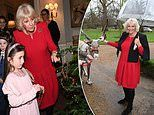 Duchess of Christmas! Camilla invites children into her Clarence House home