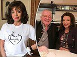 Joan Collins reveals how she's spending lockdown - from Zoom cocktails to ALWAYS wearing lipstick