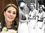 Kate Middleton leads Royal Family's British Red Cross tributes