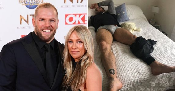 I'm A Celebrity star James Haskell fumes at wife Chloe Madeley for posting pictures of him in his pants