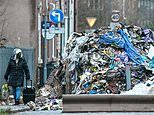 West Midlands fly-tippers dump 16ft-high rubbish mountain on residential street