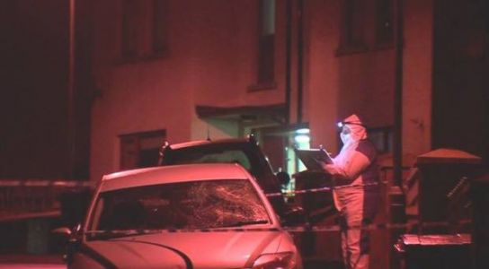 Man arrested on suspicion of attempted murder after Forkhill shooting