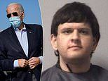 Man, 19, who 'plotted to assassinate Joe Biden' is arrested after van found loaded with guns