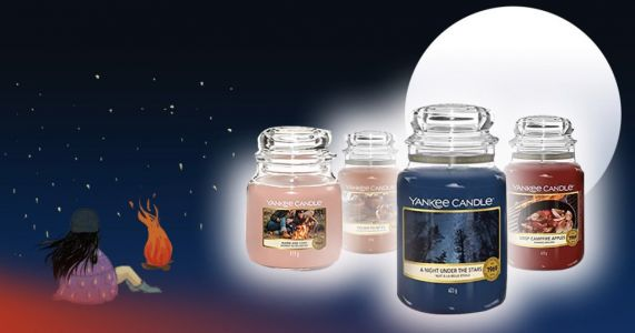 If you're staycationing this year try these new Yankee Candle campfire scents