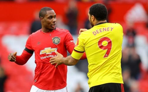 Troy Deeney 'lost his head' with Odion Ighalo in Manchester United clash and drove home alone from Old Trafford
