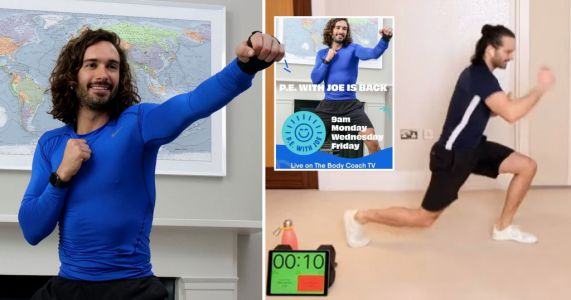 Joe Wicks shares utter embarrassment after letting out massive fart during live workout
