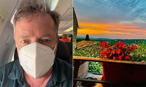 Piers Morgan makes fans jealous with first photos from luxury summer holiday