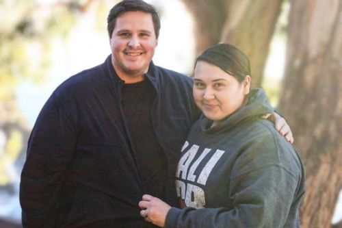 Obese couple shed huge 30st between them to follow dream of becoming parents