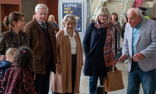 Last Tango in Halifax series 5 episode 1 review: From Caroline's budding romance to Gillian's woodworm - it's just brilliant