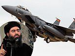 US Air Force F-15E Strike Eagle warplanes which likely bombed ISIS founder are on their way home