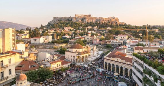Strong earthquake hits Athens with tremors felt 350 miles away