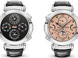 World's most expensive watch - a £24.2MILLION Patek Philippe - sells at auction in Switzerland