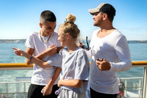 Peter Andre whisks kids away to France after their horror trip with Katie Price