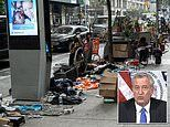 Homeless camp in Manhattan's Chelsea district angers local business owners and residents