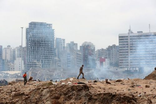 I Live In Beirut. Our City Is On It's Knees, But We Will Not Buckle
