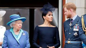 The Queen's last words to Prince Harry before the royal split
