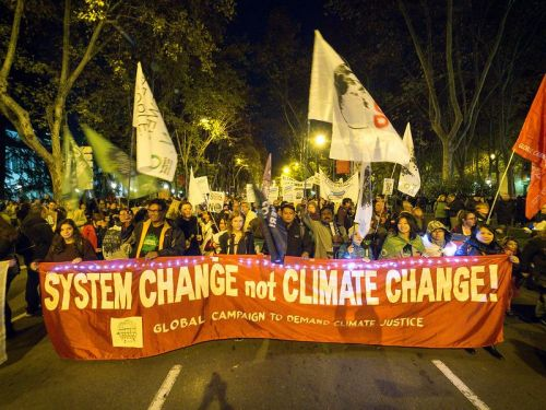 Corporate-captured climate talks ignores peoples' demands for climate justice