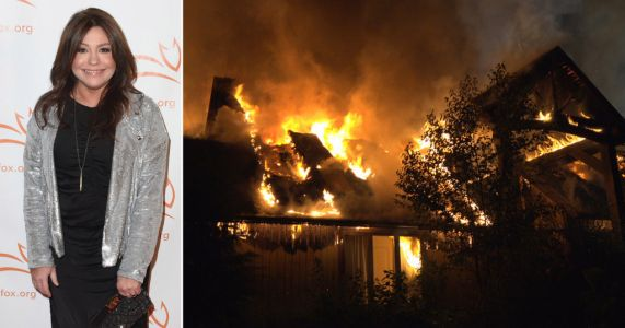Celebrity chef Rachael Ray and her husband 'safe' after huge blaze rips through NYC home