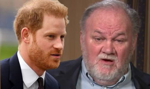 Prince Harry needs to 'man up and fly down to see me' demands Meghan Markle's father