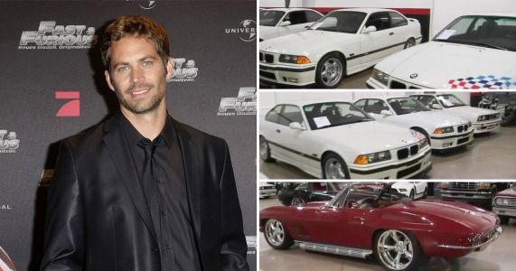 Paul Walker's extensive car collection sold for £1.8million at auction six years after tragic death