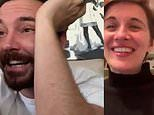 Line Of Duty stars Martin Compston and Vicky McClure reunite for hilarious video call
