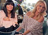 Tess Daly declares it's dreamy' to finally reunite with Claudia Winkleman